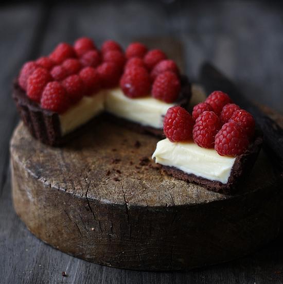 Tartaletas-de-chocolate-mascarpone-y-frambuesas