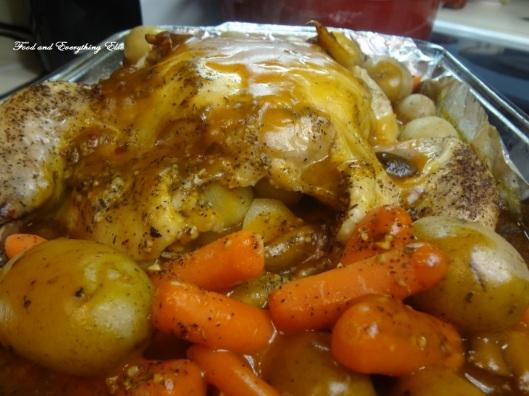 Mushroom Chicken & Veggies