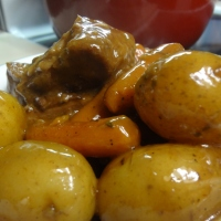 Crockpot Golden Mushroom Beef Pot Roast