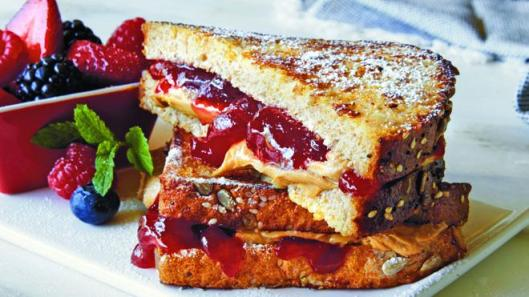 French Toast PBJ