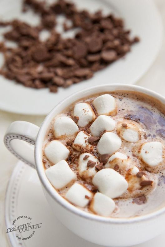 Spiked Hot Chocolate