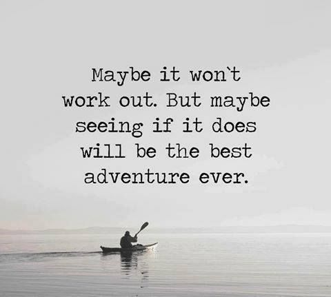 Life is an adventure~ Quote