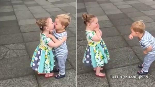 Relationship Goals Cute Kids First Kiss
