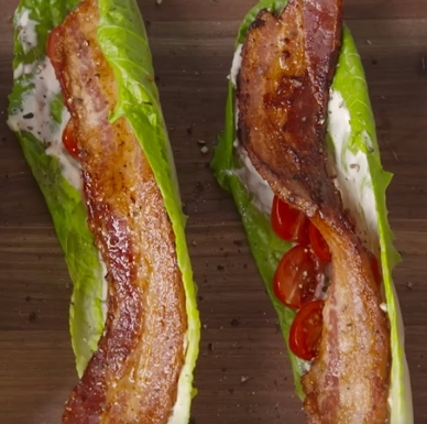 No-Bread BLT