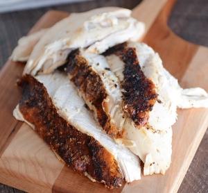 Rock Salt Roast BBQ Honey Chicken