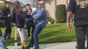 Off-duty officer firers gun during dispute with teens- Sparks Anaheim Protests