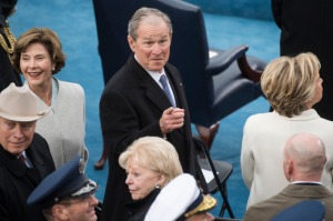Oh Really?! George W. Bush Criticizes the Trump Inauguration 'That was some weird sh*t'