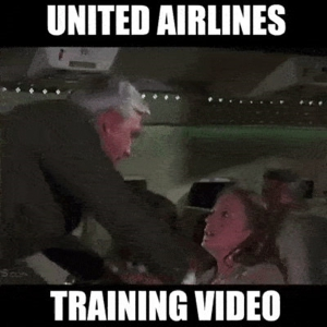 United Airlines Training Video